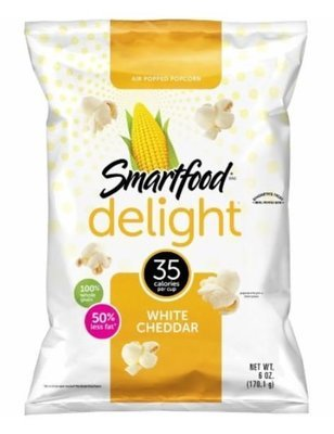 Popcorn, Smartfood® Delight™ White Cheddar Popcorn (6 oz Bag)