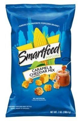 Popcorn, Smartfood® Caramel & Cheddar Mix Popcorn (7 oz Bag)