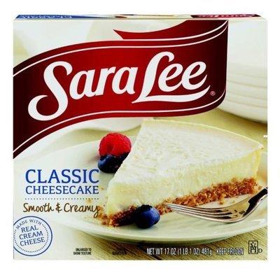 Cheesecake, Sara Lee® Smooth & Creamy™ Cheesecake (17 oz Box)