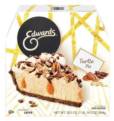 Pie, Edwards® Turtle Pie (30.5 oz Box)