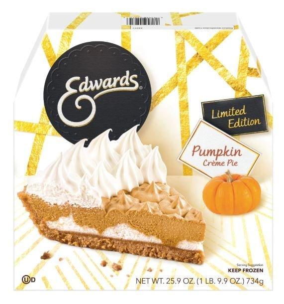 Pie, Edwards® Pumpkin Crème Pie (25.9 oz Box)
