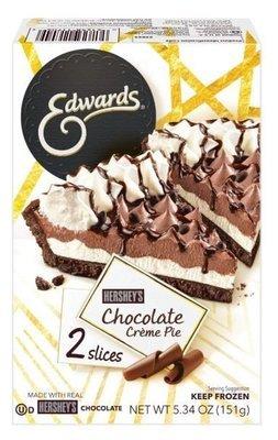 Pie, Edwards® Hershey's Chocolate Crème Pie (Two 2.67 oz Slices)