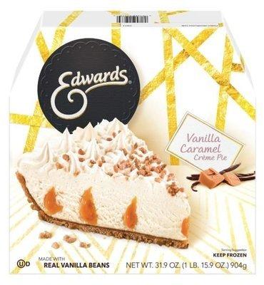 Pie, Edwards® Vanilla Caramel Crème Pie (39.1 oz Box)