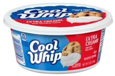 Whipped Cream, Cool Whip® Extra Creamy Whipped Topping (8 oz Tub)