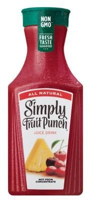 Juice Drink, Simply Fruit Punch® (52 oz Bottle)