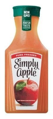 Apple Juice, Simply® Apple (52 oz Bottle)