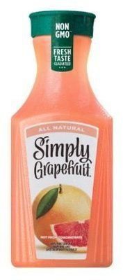 Grapefruit Juice, Simply Grapefruit® Grapefruit Juice (52 oz Bottle)