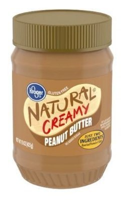 Peanut Butter, Kroger® Natural Creamy Peanut Butter (15 oz Jar)