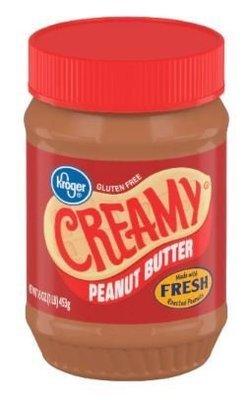 Peanut Butter, Kroger® Creamy Peanut Butter (16 oz Jar)
