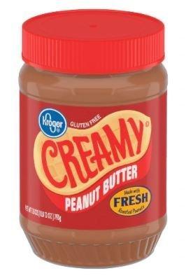 Peanut Butter, Kroger® Creamy Peanut Butter (28 oz Jar)