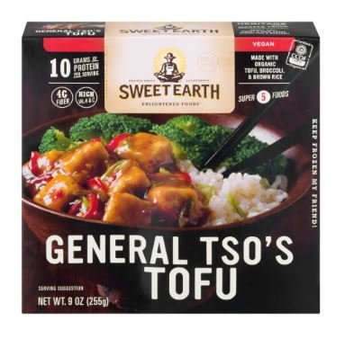 Tofu, General Tso's® Sweet Earth™ Tofu (9 oz Box)