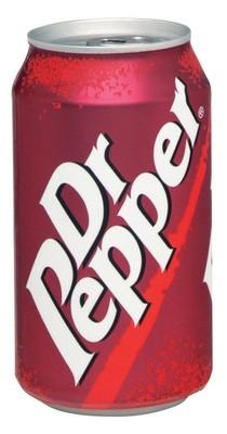 Soda, Dr Pepper® Soda (Single 12 oz Can)