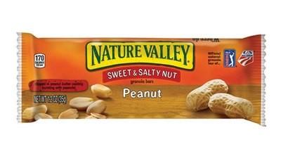 Snack Bar, Nature Valley® Sweet & Salty Peanut Nut Granola Bar (1.2 oz Bag)
