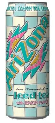 Tea, Arizona® Lemon Tea (23 oz Can)