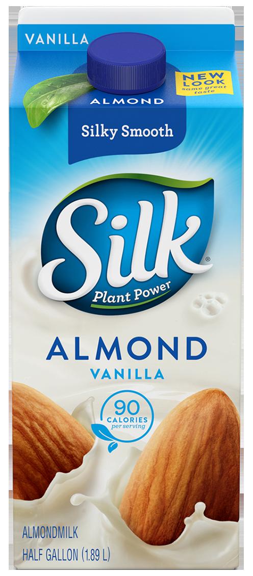 Almond Milk, Silk® Vanilla Almond Milk (½ Gallon Carton)