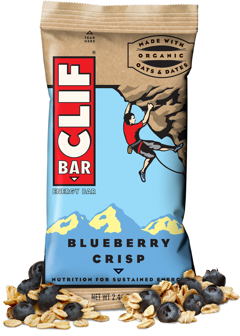 Energy Bars, CLIF® Blueberry Crisp Energy Bar (2.4 oz Bag)