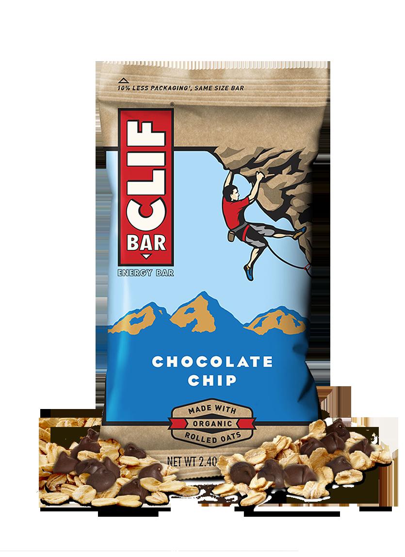 Energy Bars, CLIF® Chocolate Chip Energy Bar (2.4 oz Bag)
