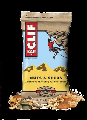 Energy Bars, CLIF® Nuts & Seeds Energy Bar (2.4 oz Bag)