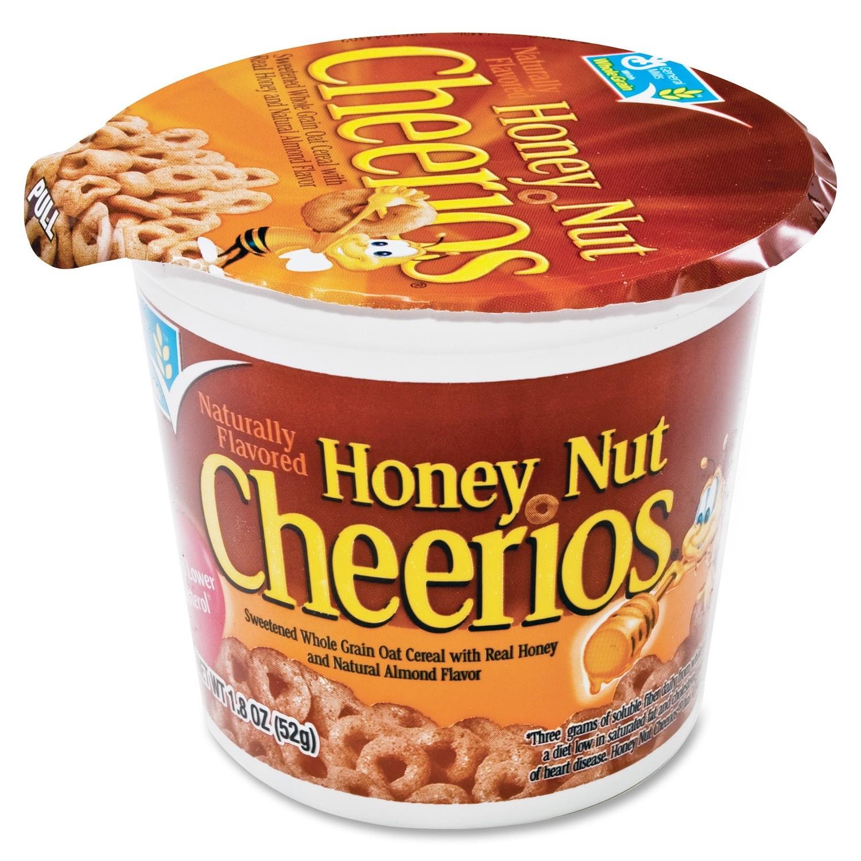Cereal, General Mills® Cheerios® Honey Nut Cereal (1.8 oz Cup)