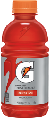 Energy Drink, Gatorade® Fruit Punch Energy Drink (Single 12 oz Bottle)