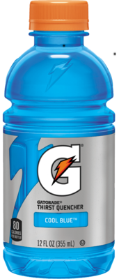 Energy Drink, Gatorade® Cool Blue Energy Drink (Single 12 oz Bottle)