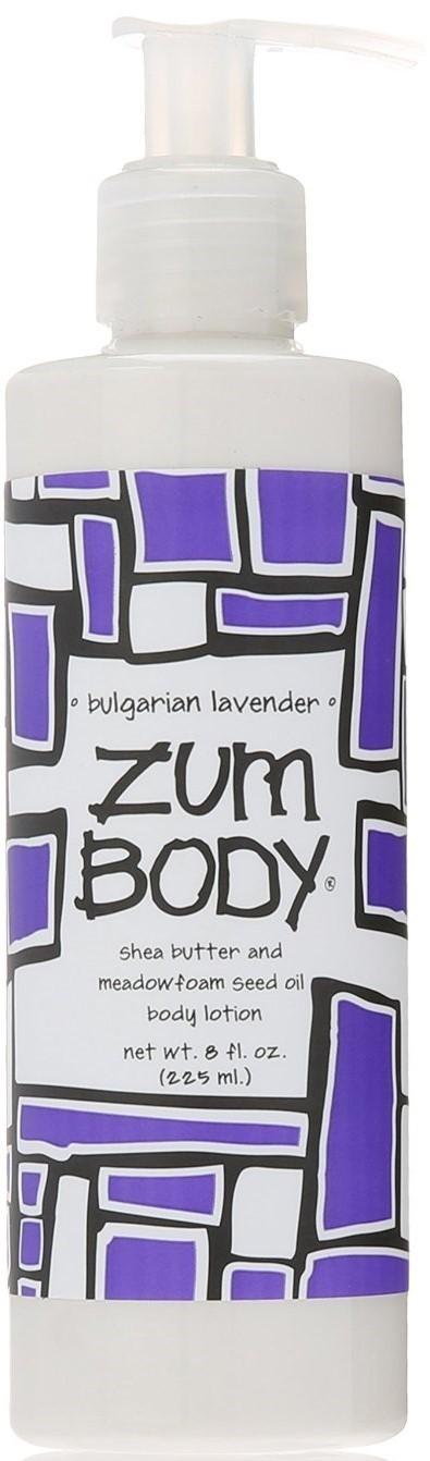 Body Lotion, Zum Body® Bulgarian-Lavender Body Lotion (8 oz Pump Bottle)