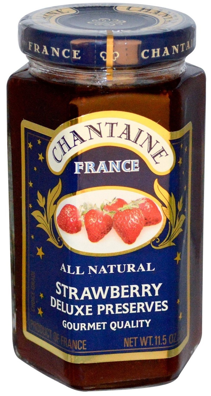 Fruit Spread, Chantaine® Strawberry Deluxe Preserves (11.5 oz Jar)