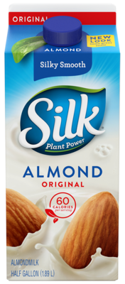 Almond Milk, Silk® Original Almond Milk (½ Gallon Carton)