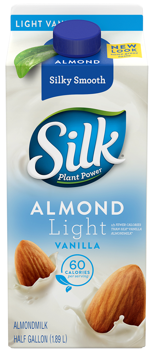 Almond Milk, Silk® Light Vanilla Almond Milk (½ Gallon Carton)