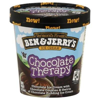 Ice Cream, Ben & Jerry's® Chocolate Therapy Ice Cream (1 Pint, 16 oz Cup)