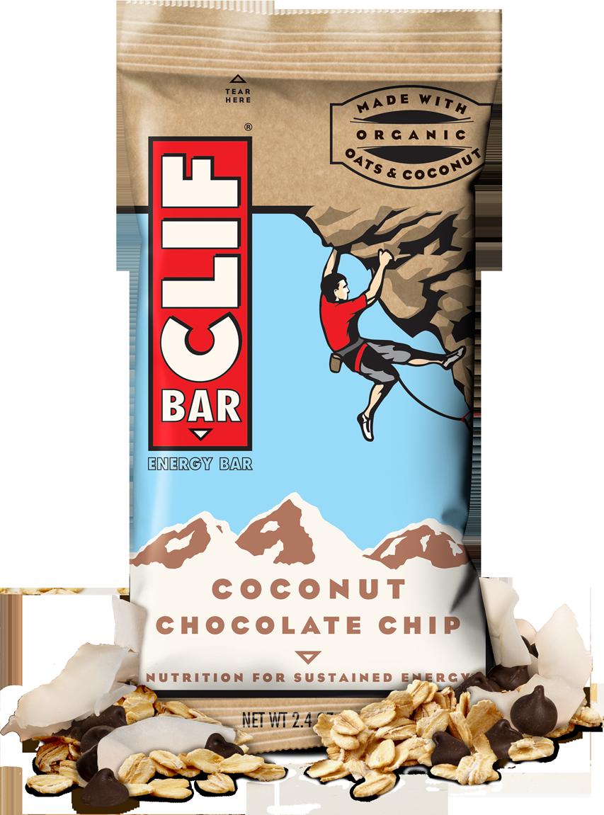 Energy Bars, CLIF® Coconut Chocolate Chip Energy Bar (2.4 oz Bag)