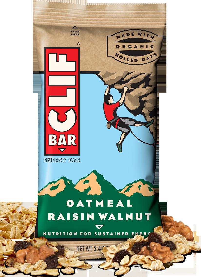 Energy Bars, CLIF® Oatmeal Raisin Walnut Energy Bar (2.4 oz Bag)