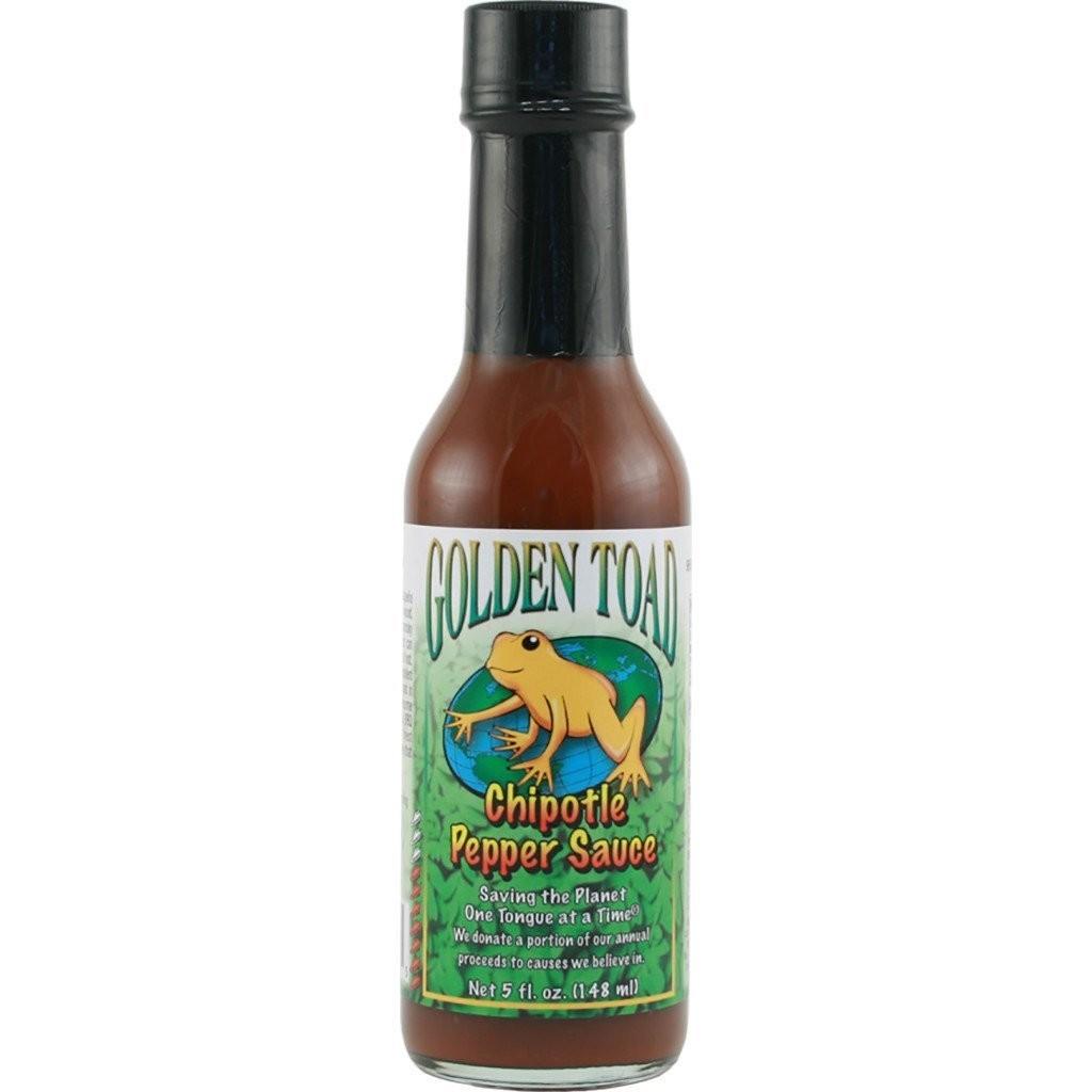Hot Sauce, Golden Toad® Chipotle Pepper Hot Sauce, 5 oz Bottle