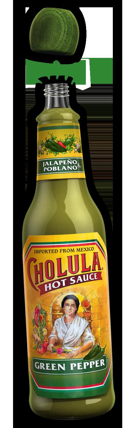 Hot Sauce, Cholula® Green Pepper, 5 oz Bottle