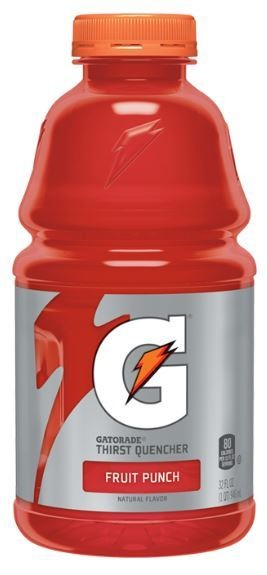 Energy Drink, Gatorade® Fruit Punch (20 oz Bottle)