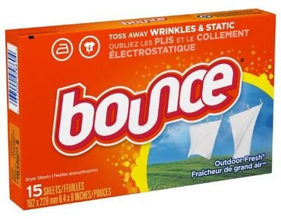 Laundry Fabric Softener, Bounce®Laundry Fabric Softener (15 Count Box)