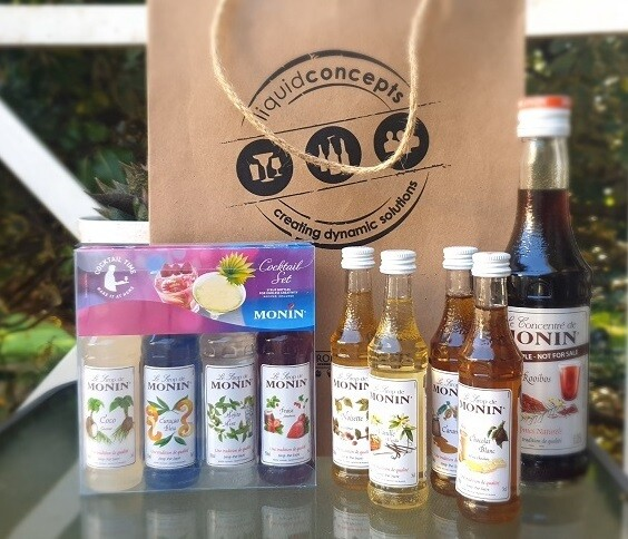 Monin Syrup gift pack valued at R 799