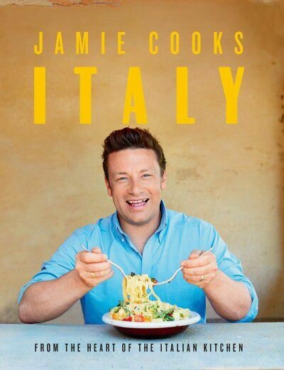Jamie Oliver's 'Jamie Cooks Italy Cookbook valued at R 365