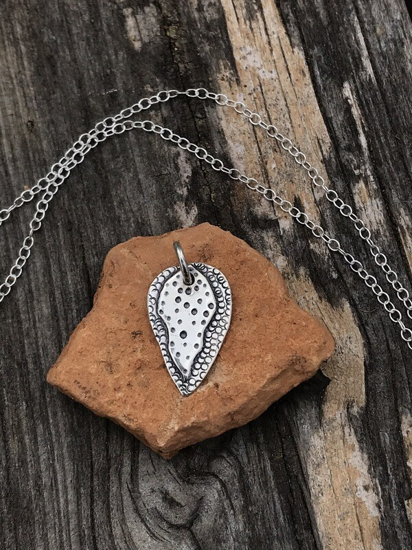 Arrow Head Sterling Silver Pendant