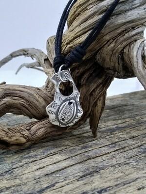 """Frog"" 925 Sterling Silver Handmade Pendant"