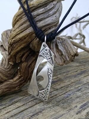 """Mystery"" 925 Sterling Silver Handmade Pendant"