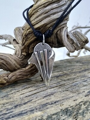 """Arrow"" Sterling Silver Handmade Pendant"