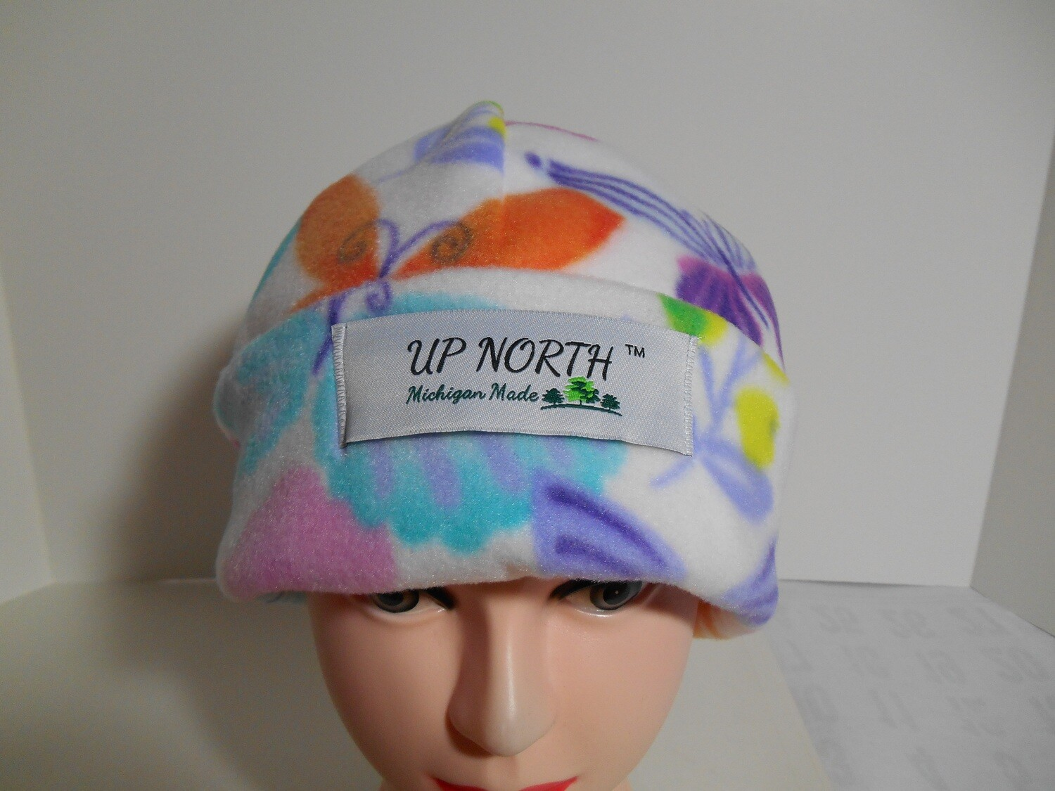 Butterfly Winter Hat with Face Cover