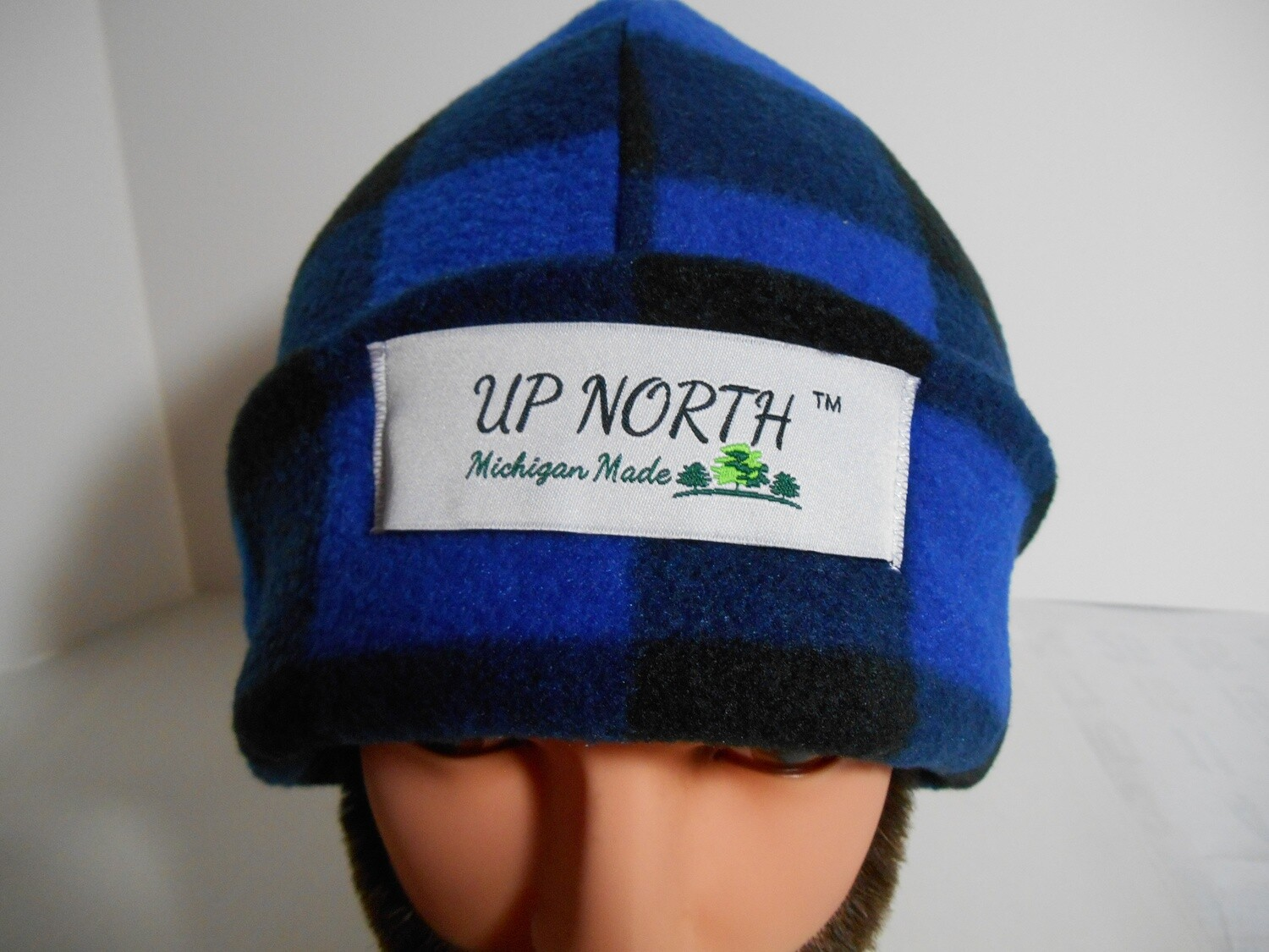 Blue Buffalo Winter Hat with Face Cover