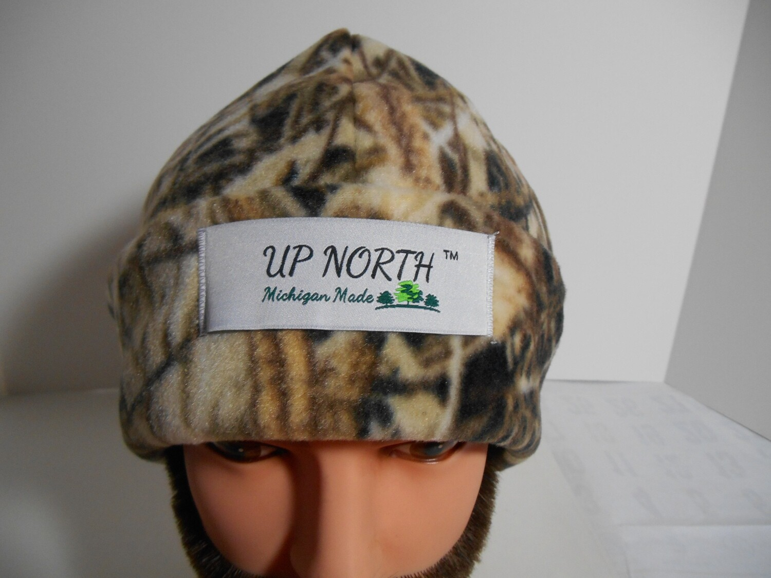 Marsh Camo Winter Hat with Face Cover