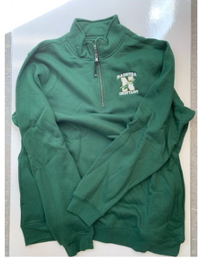 Green Quarter Zip
