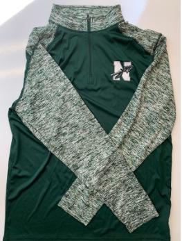 Green Athletic Quarter Zip