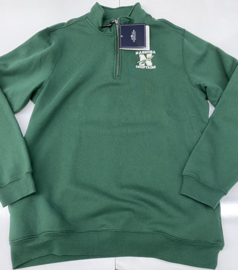 Green Fleece 1/4 Zip