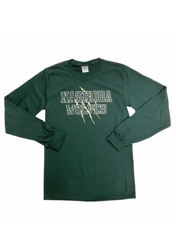 Nashoba Wolves Green Long Sleeve