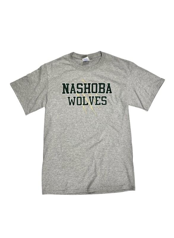 Nashoba Wolves Grey Short Sleeve
